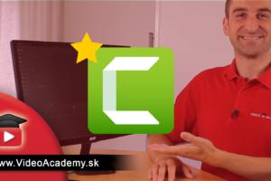 Program na strihanie videa Camtasia prešla rozsiahlou zmenou