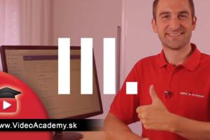 Efektívny YouTube Marketing III.