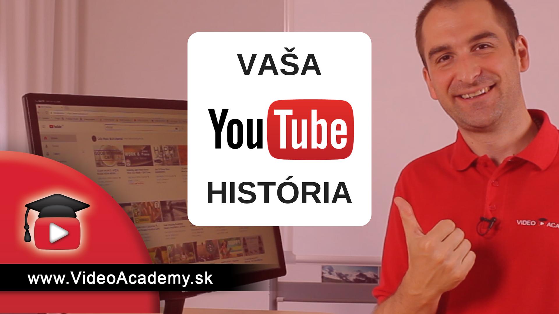Ako vymazať historiu na YouTube